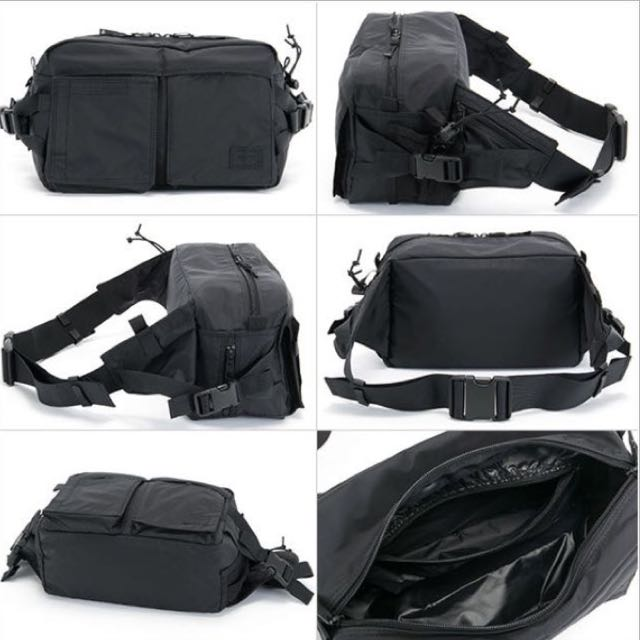 Head Porter Black Beauty Tanker Waist Bag, Men s Fashion, Bags   Wallets on  Carousell cd779dd824