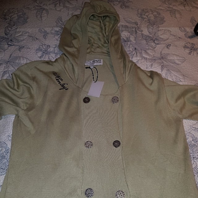 Henley's Knit Hoodie Size 14