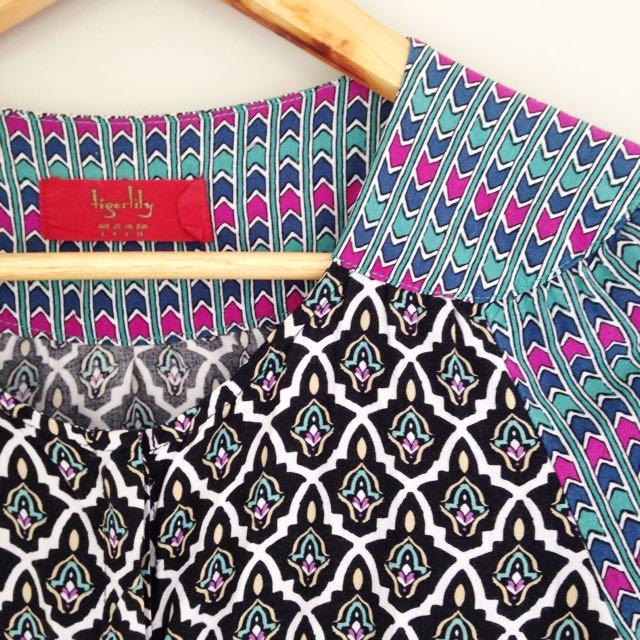Hippy Button Up Dress 👗