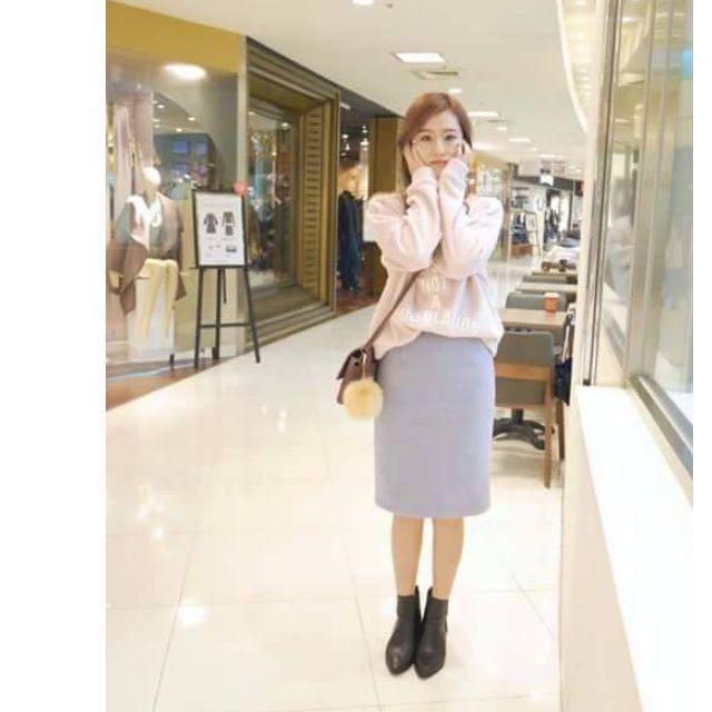 轉賣HOLY HOLY韓紫色長裙