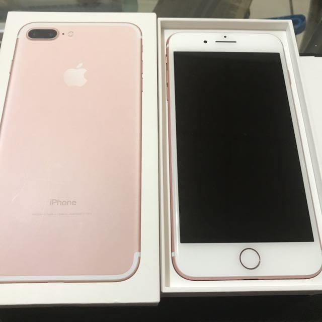 [全新整新機]iPhone 7 plus 32G 玫瑰金 不議價