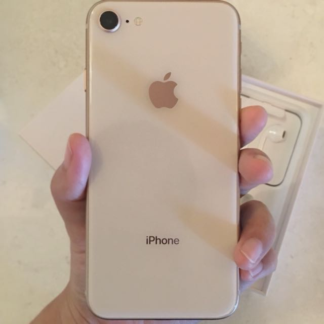 IPhone 8 64GB Gold HK Set Open Box Mobiles Tablets