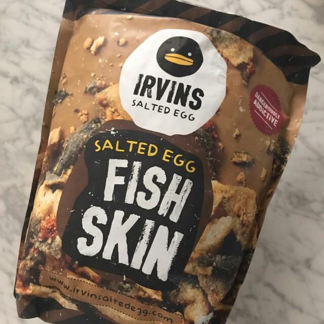 Irvins Fish Skin L