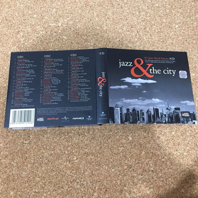Jazz & the City (3 CDs)