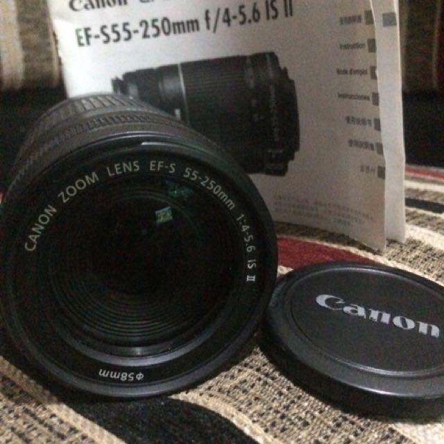 JUAL CEPAT !!CANON LENS. 55-250mm