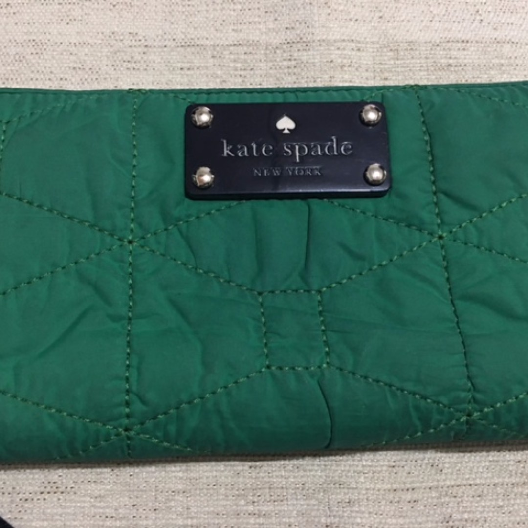 Kate Spade Quilted Lacey Zip Wallet