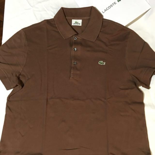 01661e368 Lacoste Mens Polo Shirt ( Size 4 ), Men's Fashion, Clothes on Carousell
