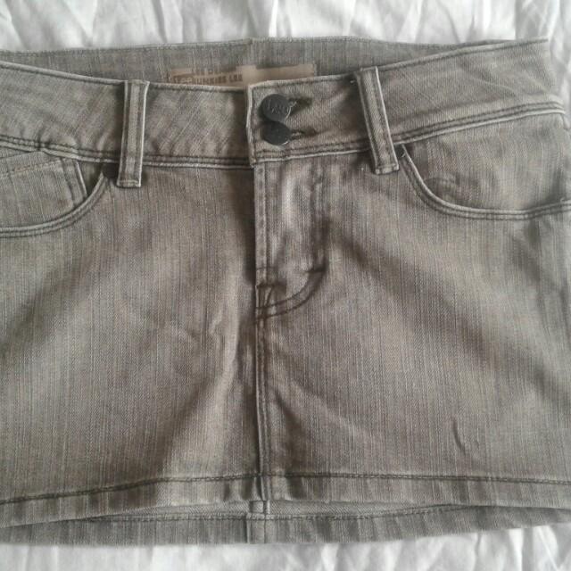 Lee Jeans Mini Skirt