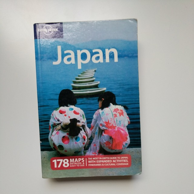 Lonely Planet Travel Guide to Japan