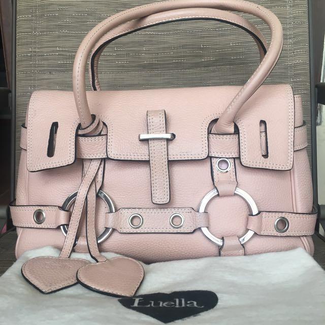 Luella Pink Handbag (Authentic)