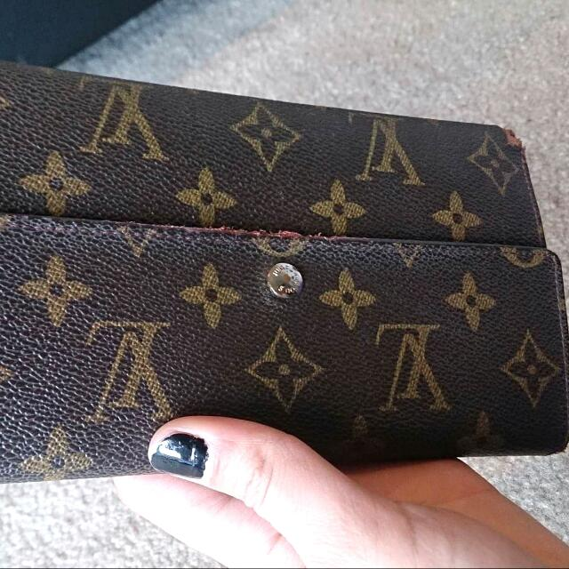 LV Canvas Vintage Monogram Purse