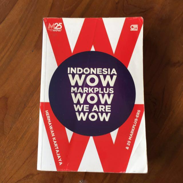 Markplus Indonesia WOW by Hermawan Kertajaya
