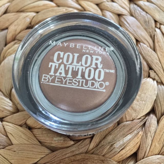 Maybelline Colour Tattoo Eyeshadow - 25 Bad To The Bronze