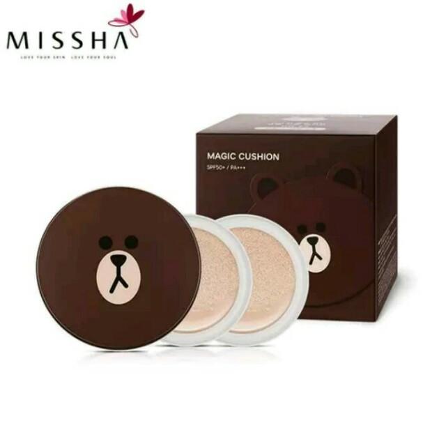 Missha magic line friends cushion - Brown 21