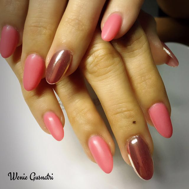 Nails Extensions Gel Manicure @ Woodlands, Health & Beauty, Hand ...
