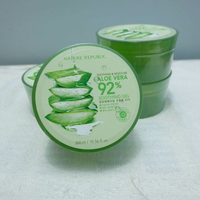 Nature Republic Aloe Vera Shooting Gel 92%