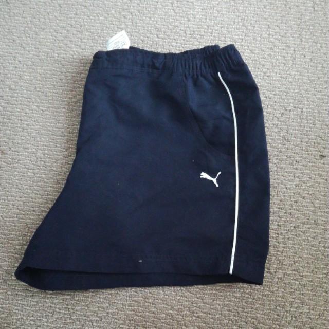 Navy Blue Puma Shorts