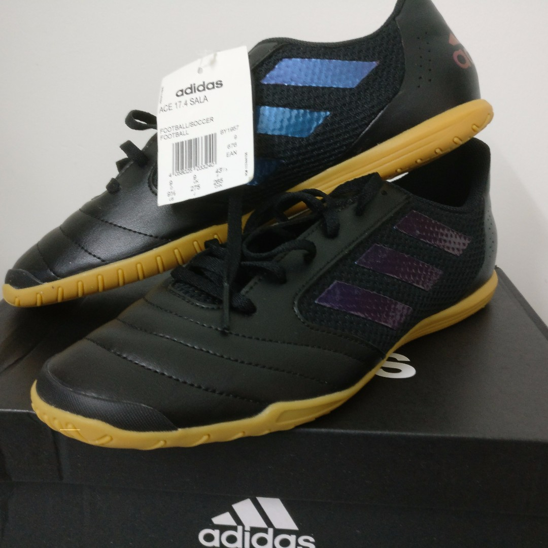 New Adidas ACE 17.4 Sala (Black) f62e18592b