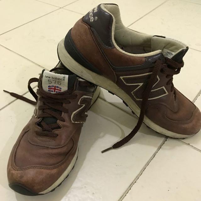 New Balance 576 Brown Trainers