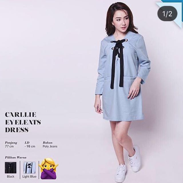 NEW! Carllie Eyeleats Dress