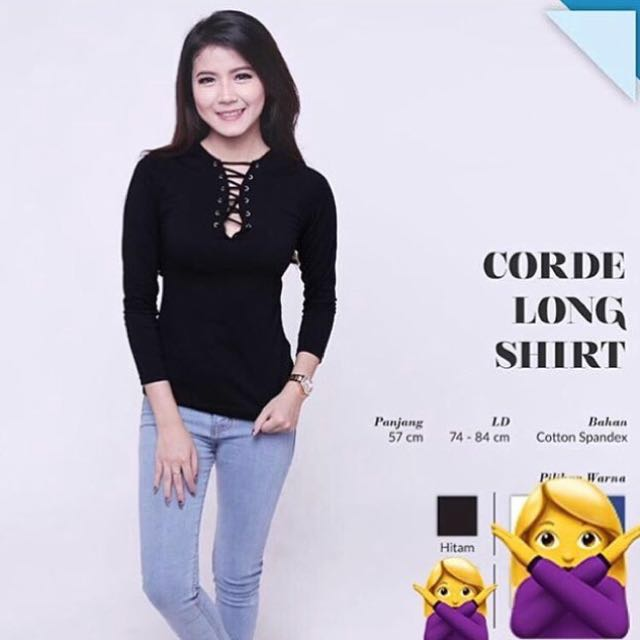 NEW! Corde Long Shirt