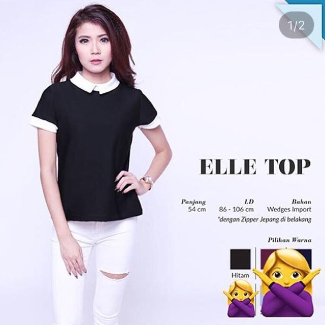 NEW! Elle Top