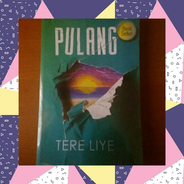 Novel: Pulang (Tere Liye)