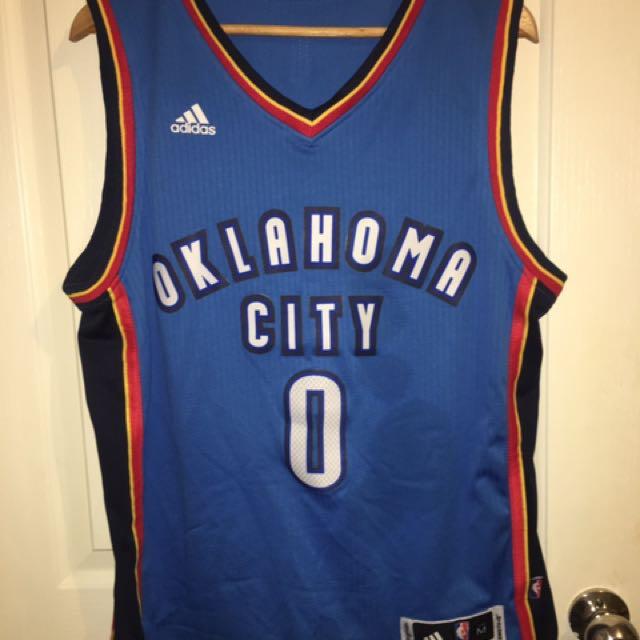 OKC NBA Jersey Russell Westbrook