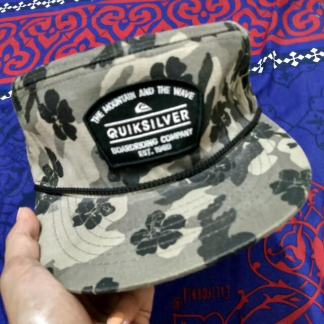topi quiksilver , original quiksilver , quiksilver hat