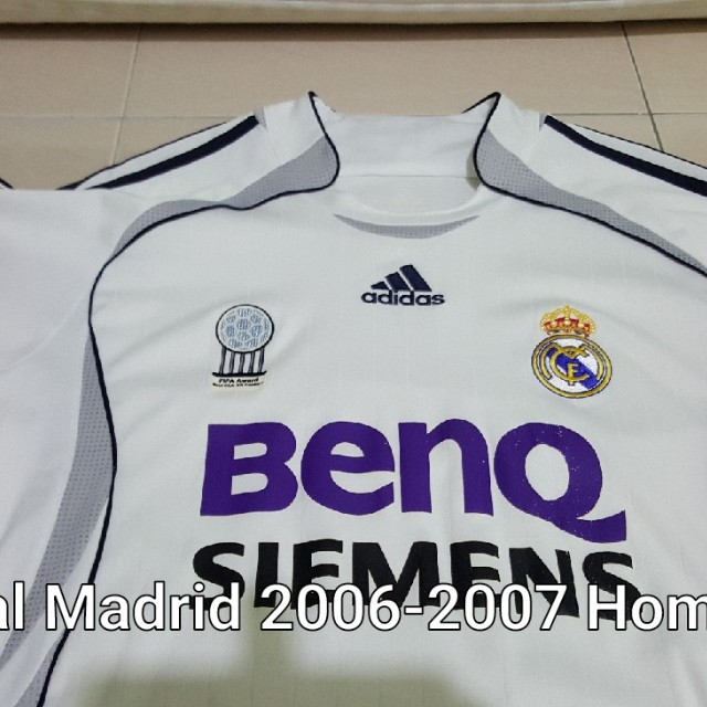 new arrival cd956 244e5 Original Real Madrid 2006-07 Home Kit M size