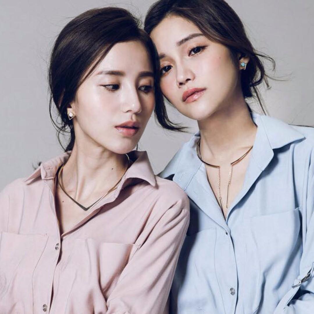 🎀韓國極簡大理石紋幾何耳針🎀P1008803