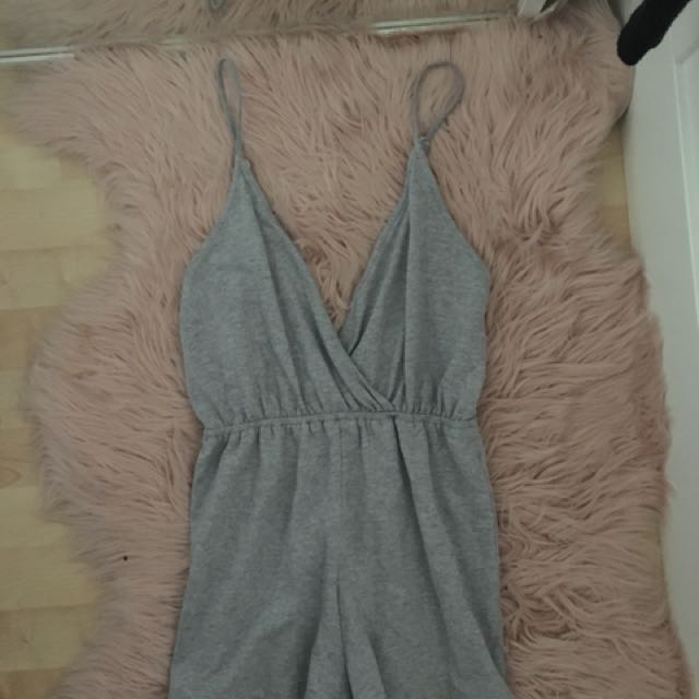 Pepper mayo playsuit size 8