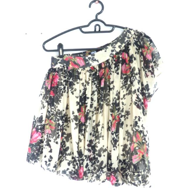 [PL] ASOS Floral Off Shoulder Top