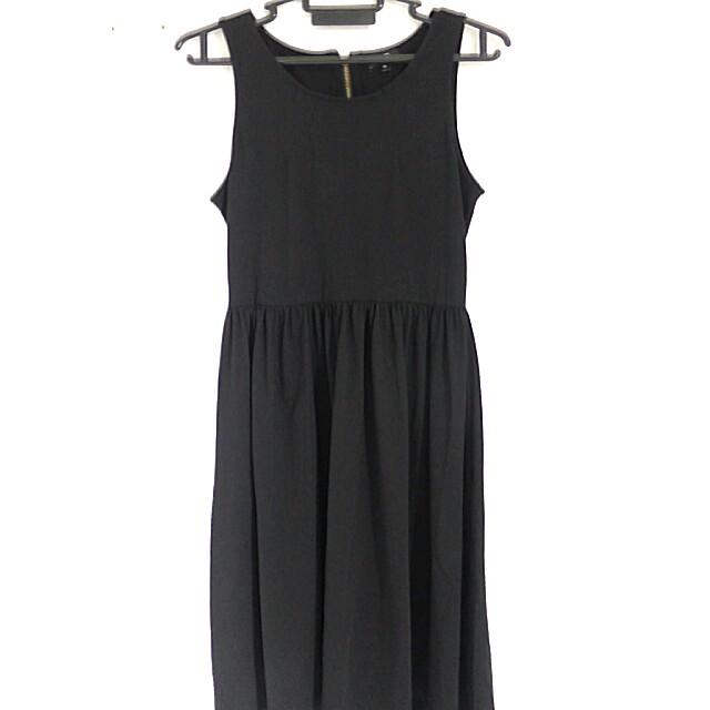 [PL] Hi-low Formal Black Dress