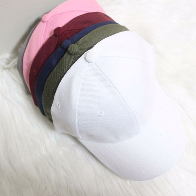 PLAIN BASEBALL CAPS (OPEN FOR RESELLERS)