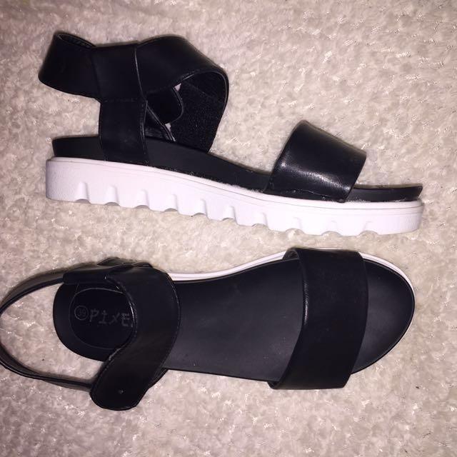 Platformed Sandals