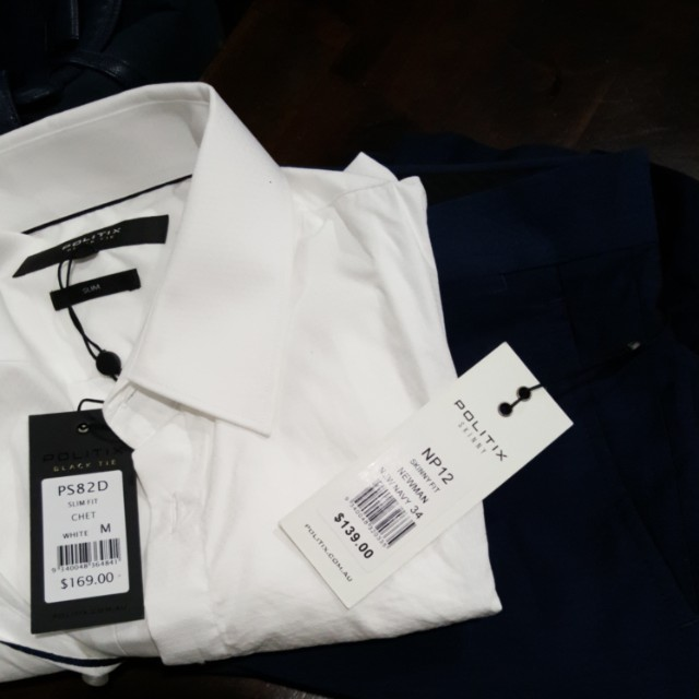 Politix Formal Shirt and Trousers