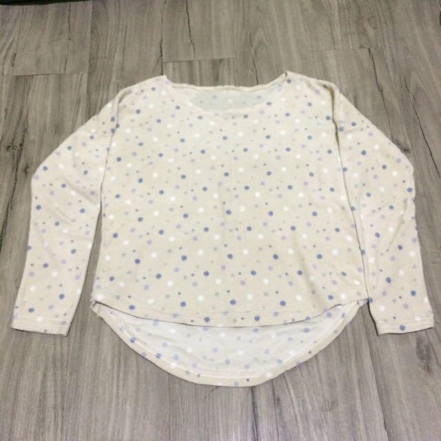 Polkadot Cream Sweater