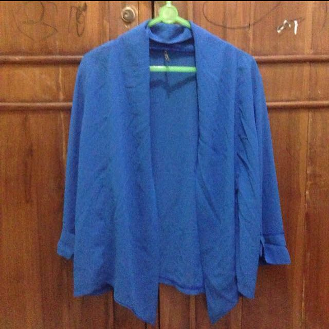 PRELOVED! Blue 3/4 outer