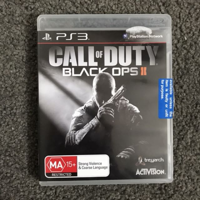 PS3 COD Black Ops 2