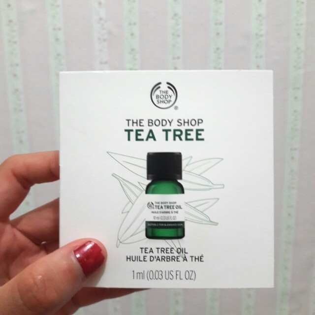 Sachet tea tree oil