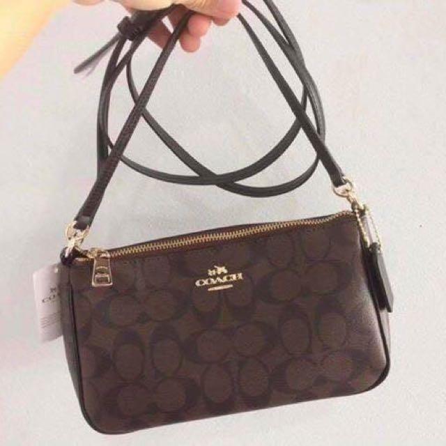 Sale!! Coach two way sling bag, Women's Fashion, Bags ...