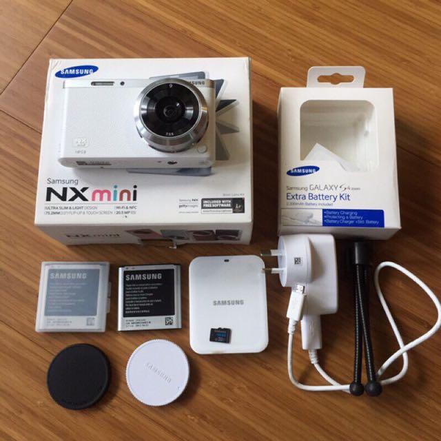 Samsung Nx Mini 白 9mm