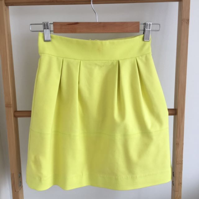 Sheike Neon Yellow Skirt