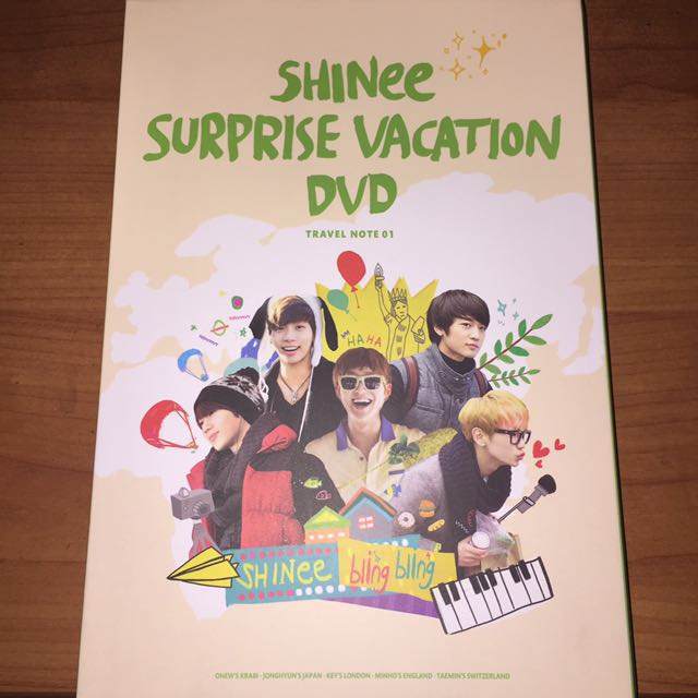 Shinee Surprise Vacation DVD SET
