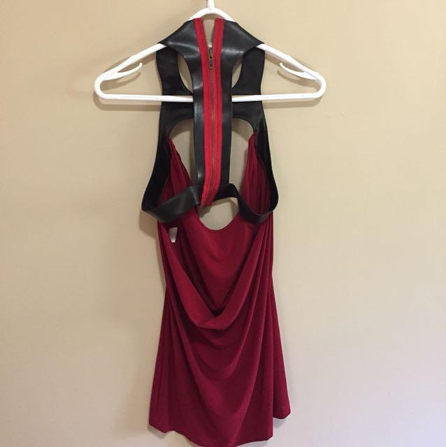 Shkank red dress