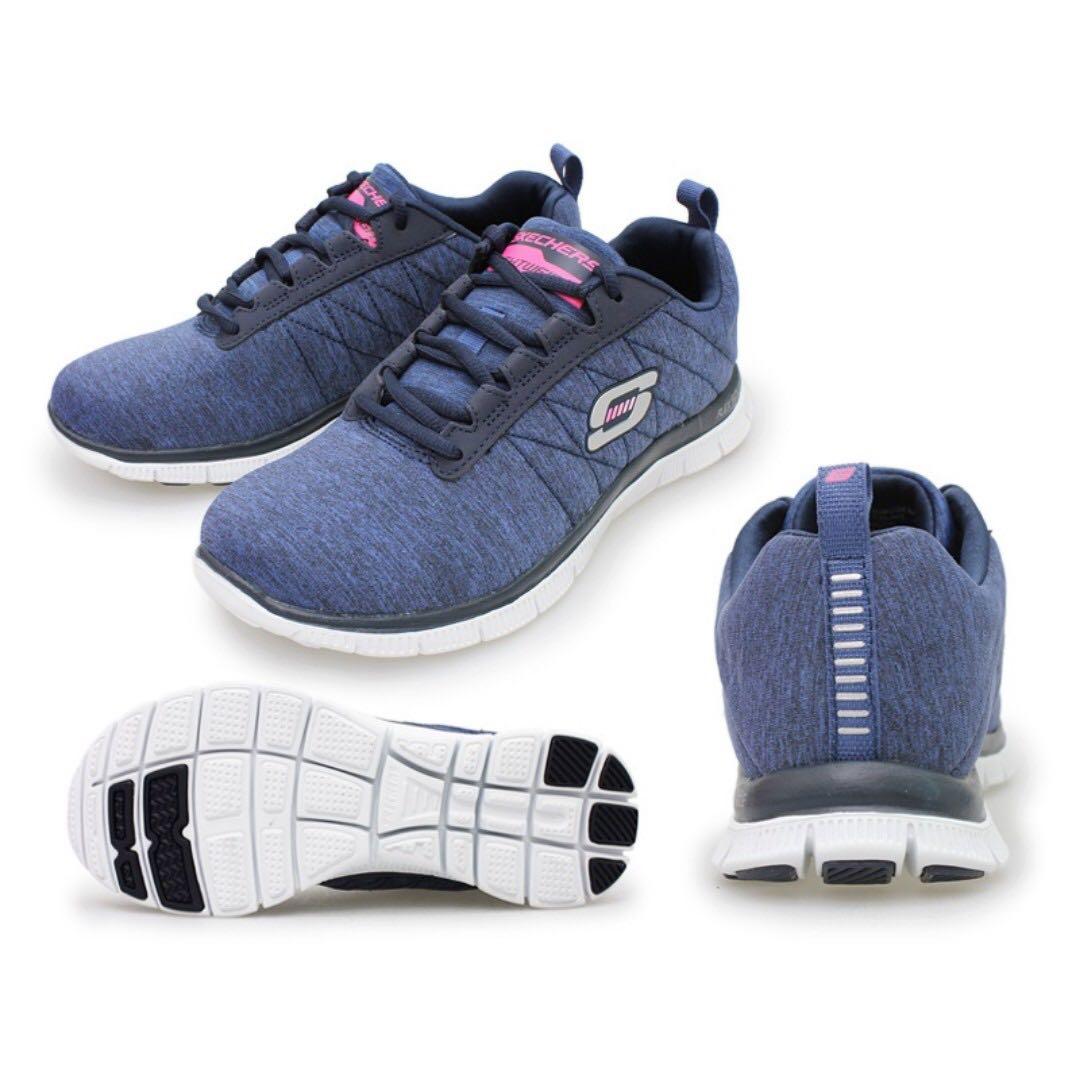 SKECHERS Women\u0027s Flex Appeal - NEXT GENERATION Lightweight Trainers 11883  NVY (Navy) Dark Blue women\u0027s sport shoes walking / running / sneaker /  memory foam ...