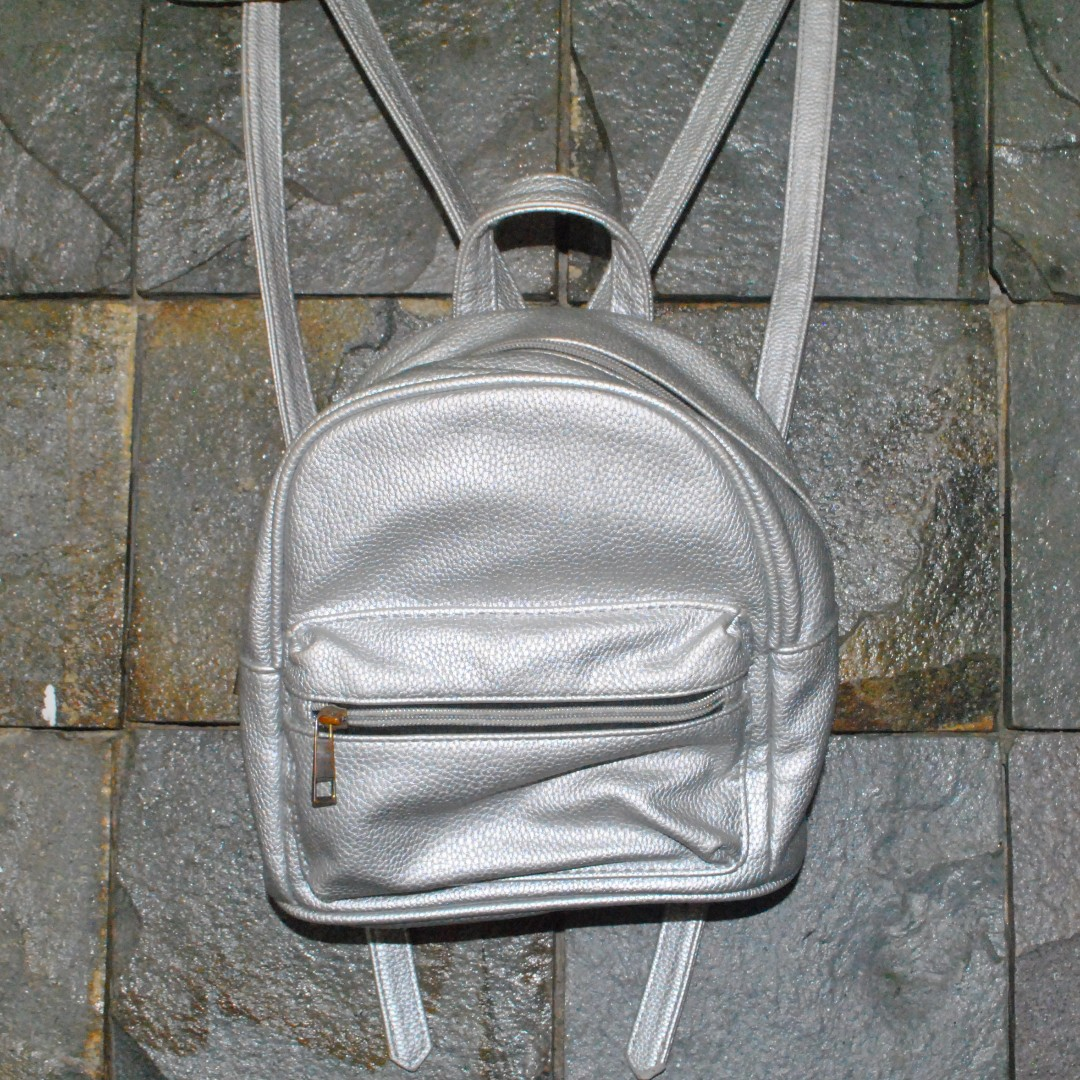 Stradivarius Bag Silver