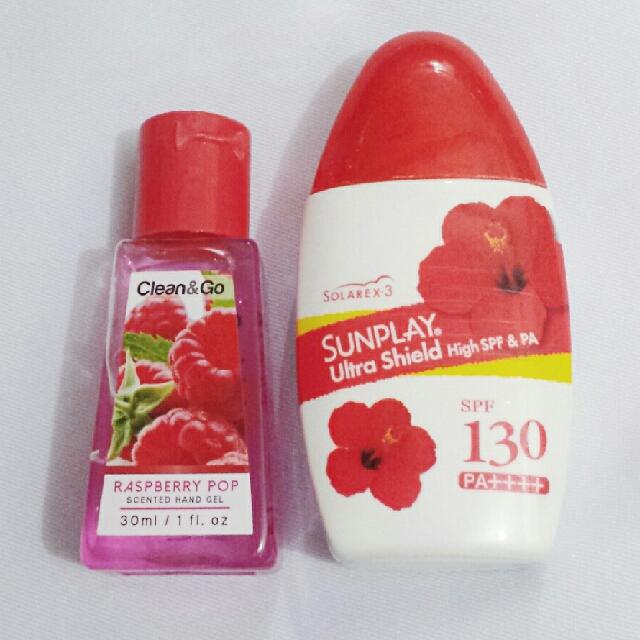 Sunplay Ultrashield Sunblock SPF 130 w/ Free Hand Sanitizer