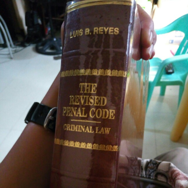 The Revised Penal Code (criminal law)
